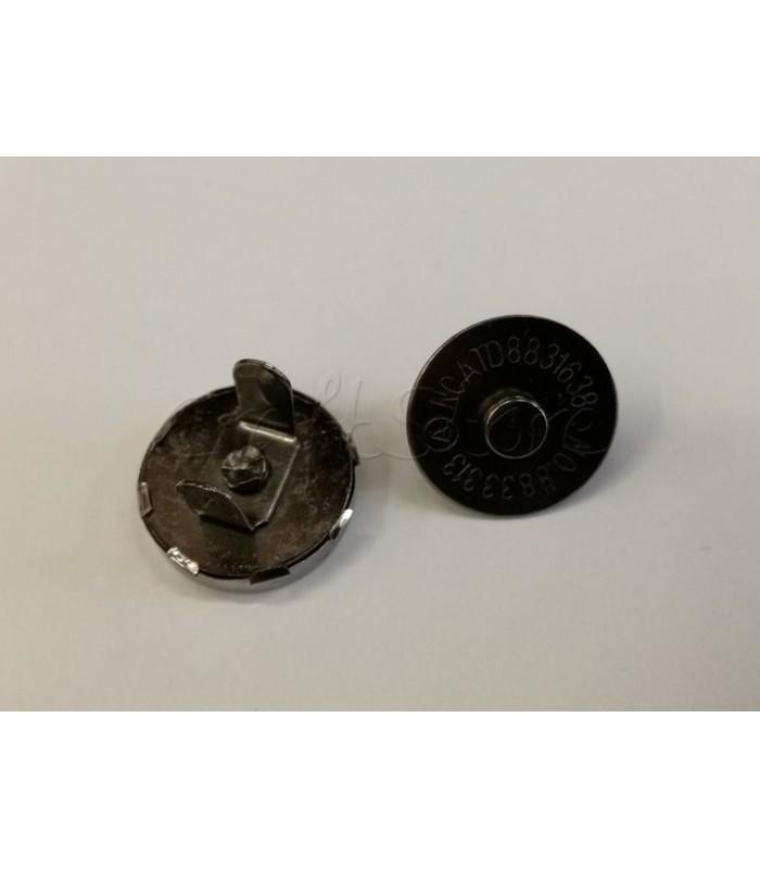 Κούμπωμα Τσάντας Μαγνητικό Μαύρο Νίκελ
