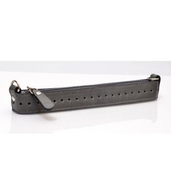 Zipper Full 25εκ Φερμουαρ με μεταλλικά στοιχεία και οδηγό γκρι