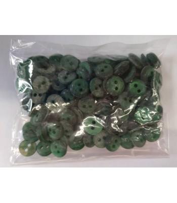 Κουμπιά Διακοσμητικά Χρώμα Κυπαρισσί 10mm (50 τεμάχια)
