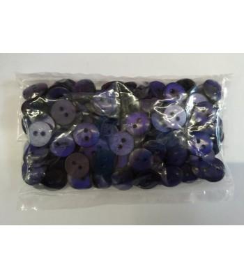 Κουμπιά Διακοσμητικά Χρώμα Μωβ 10mm (50 τεμάχια)