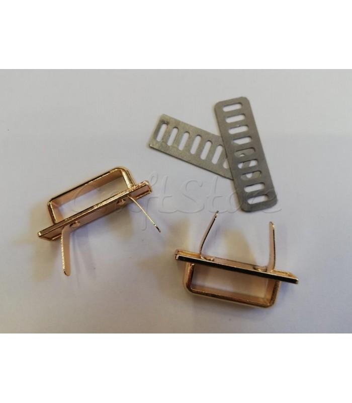 Καμάρα με βάση 40mm Χρυσό/1 τμχ