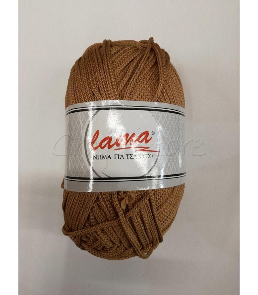 40adbbcdce Κορδόνι για Τσάντες Lama Καφέ Κάμελ  200γρ