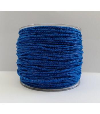 Cordone 2mm Μπλε Ρουά με Μεταλλιζέ Μπλε Ρουά 1τμχ 260γρ