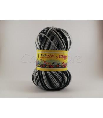 Clairy Big 100gr Τρίχρωμο Μαύρο-Γκρι-Λευκό