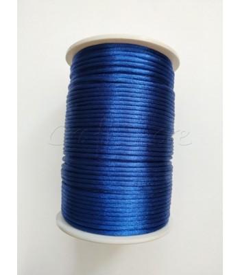 Cordoncino  2mm Μπλε Ρουά 100μ.
