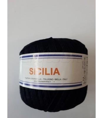 Βαμβακερό Νήμα Sicilia Μαύρο 50gr
