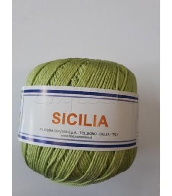Βαμβακερό Νήμα Sicilia Λαχανί 50gr