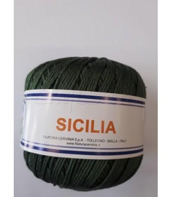 Βαμβακερό Νήμα Sicilia Χακί 50gr