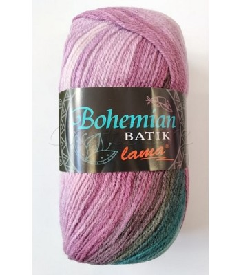 Bohemian Batik 100gr Πετρόλ με Μωβ