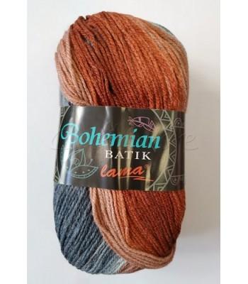 Bohemian Batik 100gr Κεραμιδί με Γκρι
