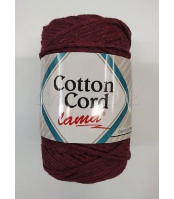 Βαμβακερό Νήμα Cotton Cord Μπορντώ 250gr