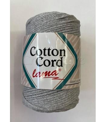 Βαμβακερό Νήμα Cotton Cord Γκρι Ανοικτό 250gr