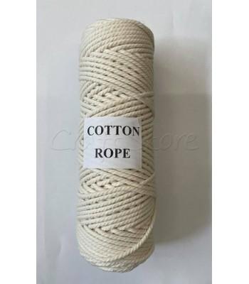 Βαμβακερό Νήμα Cotton Rope Εκρού 250gr