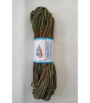 Κορδόνι Chameleon Κυπαρισσί- Λαχανί- Κόκκινο 200γρ
