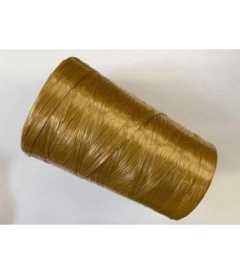 Ψάθα συνθετική 500γρ. Rafia Stafil Μπεζ Χρυσό
