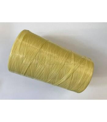 Ψάθα συνθετική 500γρ. Rafia Stafil Κίτρινο Παστέλ