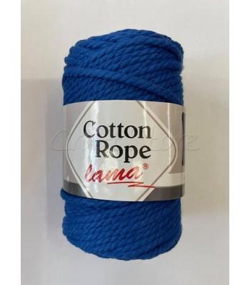 Βαμβακερό Νήμα Cotton Rope Μπλε Ραφ 250gr