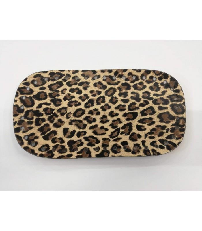 Βάση Τσάντας  Οβάλ 25*13cm Leopard