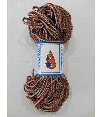 Κορδόνι Πλεγμένο Ταμπά-Καφέ-Μπεζ 200γρ