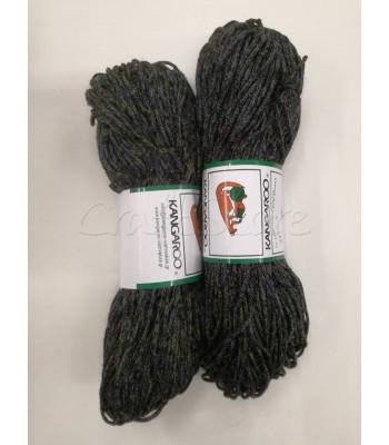 Κορδόνι Χειμωνιάτικο Μελανζέ τύπου Μοχέρ 200γρ/Χακί- Μπλε- Μαύρο 1τμχ