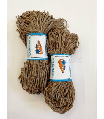 Κορδόνι Πολυπροπυλένιο Τρίχρωμο Ταμπά-Μπεζ 1 τμχ 200γρ