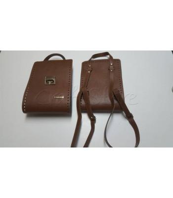 Κορμός Τσάντας 20x60cm/ Καφέ