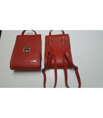 Κορμός Τσάντας 20x60cm/ Κόκκινο