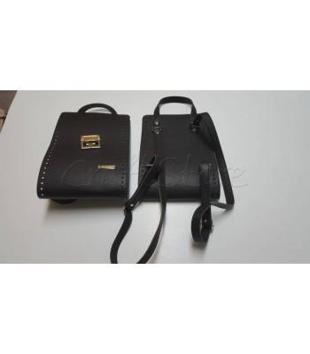 Κορμός Τσάντας 20x60cm/ Μαύρο