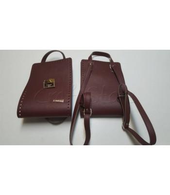Κορμός Τσάντας 20x60cm/ Μπορντώ