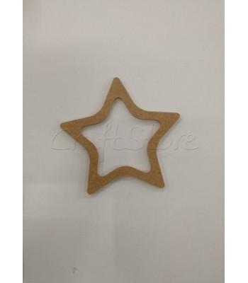 Διακοσμητικό Τελάρο Αστέρι Small