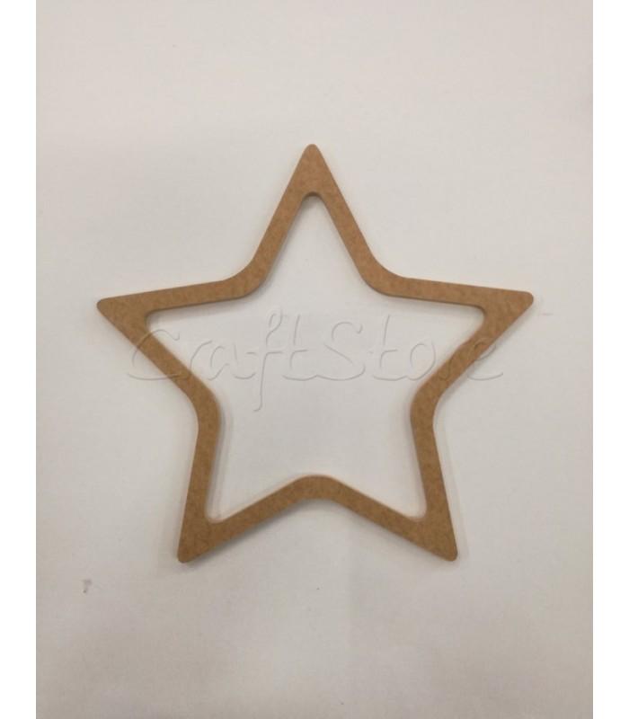 Διακοσμητικό Τελάρο Αστέρι Medium
