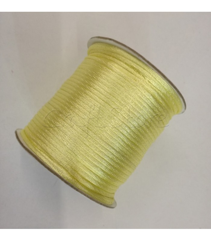Cordoncino  2mm Κίτρινο Λεμονί 100μ.