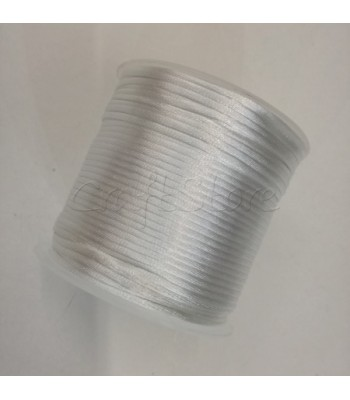 Cordoncino 2mm Λευκό 100μ.