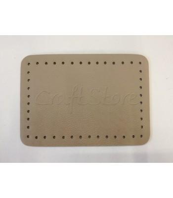 Βάση Τσάντας  Μπεζ Πούρου  20*14cm