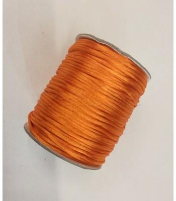 Cordoncino 2mm Πορτοκαλί 100μ.