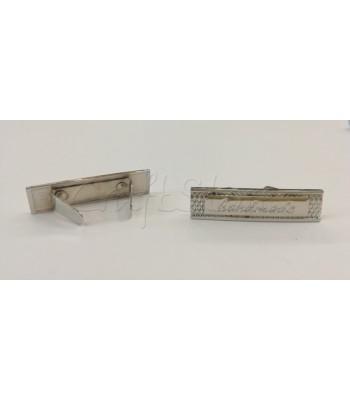 Ταμπελάκι ομορφιάς  Handmade 4x1cm Νίκελ