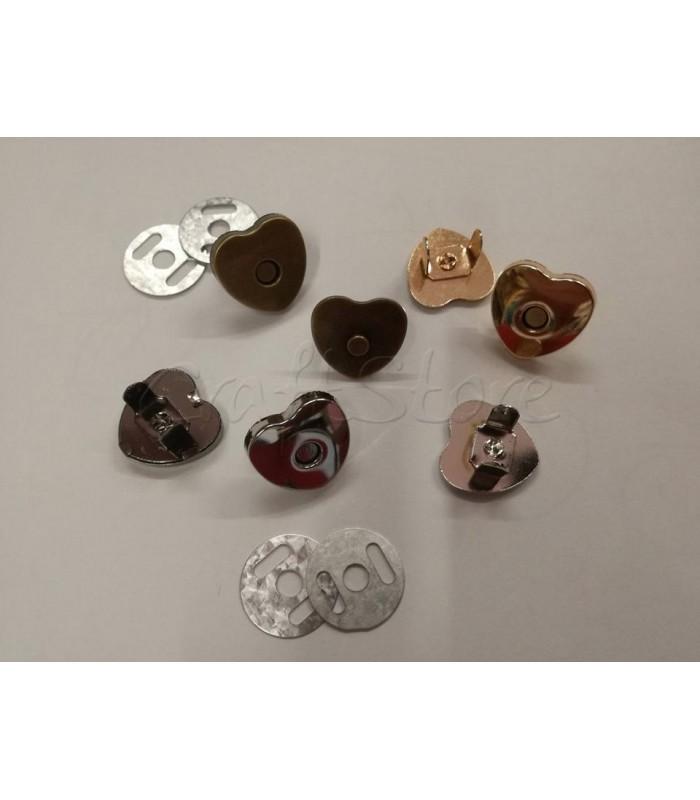Κούμπωμα Τσάντας Μαγνητικό Καρδιά