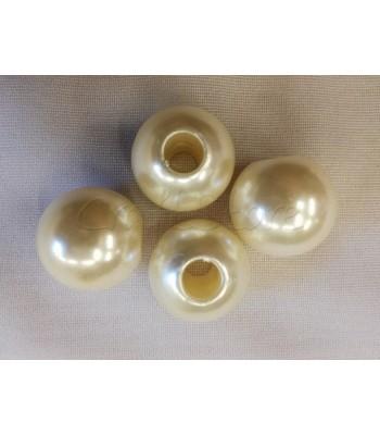Πέρλες ABS 25mm (Ø 8mm) (5 τεμάχια)