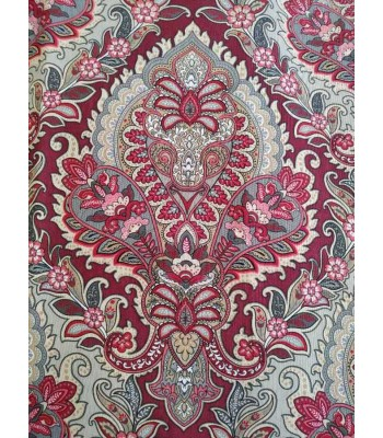 Λονέτα Baroque Style Μπορντώ Αποχρώσεις 1,40μ. x 1μ.