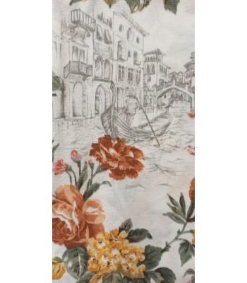 Λονέτα Βενετσιάνικα Λουλούδια 1,40μ. x 1μ.