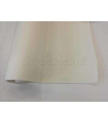 Ενισχυτική Φόδρα Τσάντας Γκοφρέ Αυτοκόλλητη 1,5μ. Λευκό