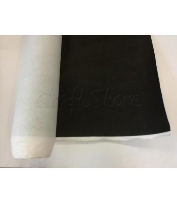 Ενισχυτική Φόδρα Τσάντας Γκοφρέ Αυτοκόλλητη 1,5μ. Μαύρο