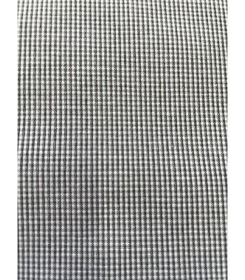 Ύφασμα Piccolo Καρό Γκρι- Λευκό 1.40μ. Χ 1μ.